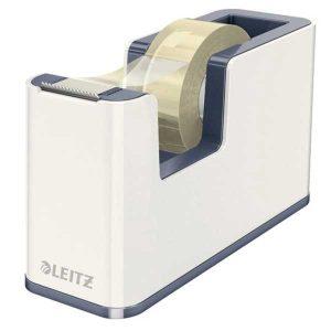 Dispenzor s páskou Leitz WOW biely/sivý