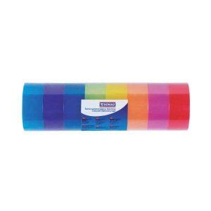 Lepiaca páska 18mm x 18m farebná